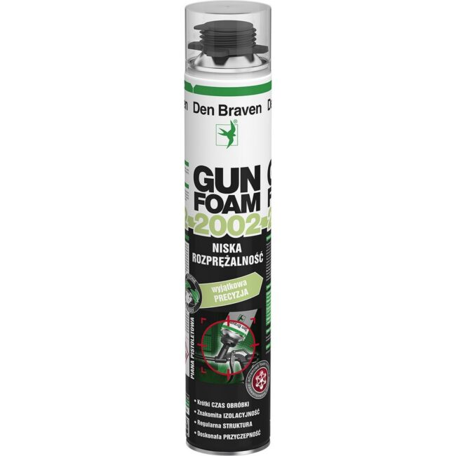 Piana PISTOLETOWA GUNFOAM 2002 750ml DEN BRAVEN
