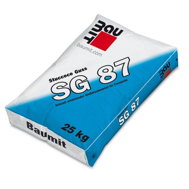 BAUMIT SG 87 zaprawa do odlewów sztukatorskich 25kg