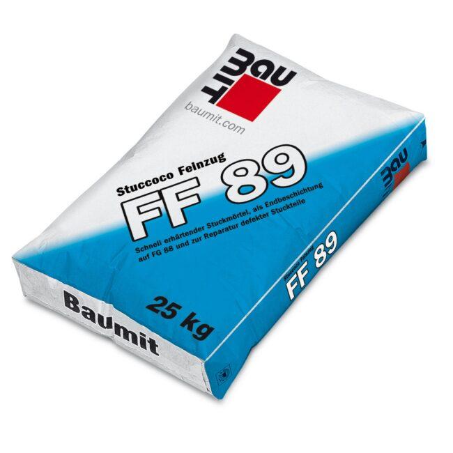 BAUMIT FF 89 zaprawa sztukatorska drobnoziarnista25kg