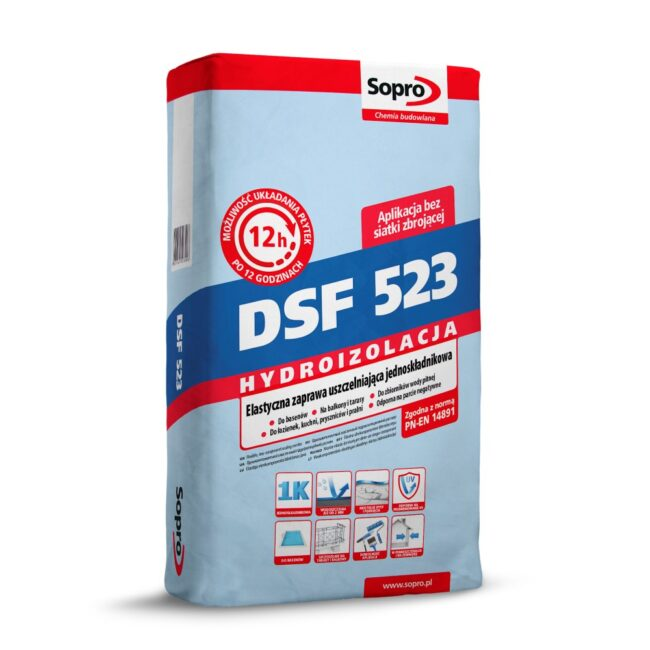SOPRO DSF 523 Zaprawa uszczelniająca 20KG