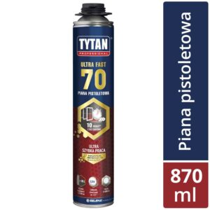 Piana pistoletowa ULTRA FAST 70 860 ml TYTAN