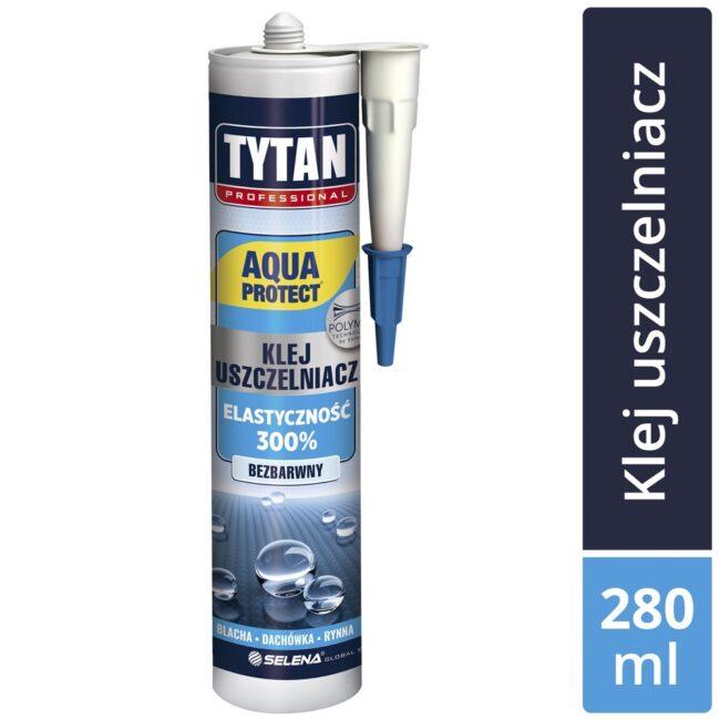 TYTAN PROFESSIONAL AQUA PROTECT Klej uszczelniacz 280ml bezpodkładowy