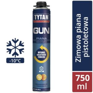 TYTAN Piana pistoletowa PROFESSIONAL GUN O2  ZIMOWA 750ml SELENA