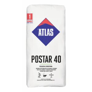 POSTAR 40 POSADZKA CEMENT. 25kg ATLAS