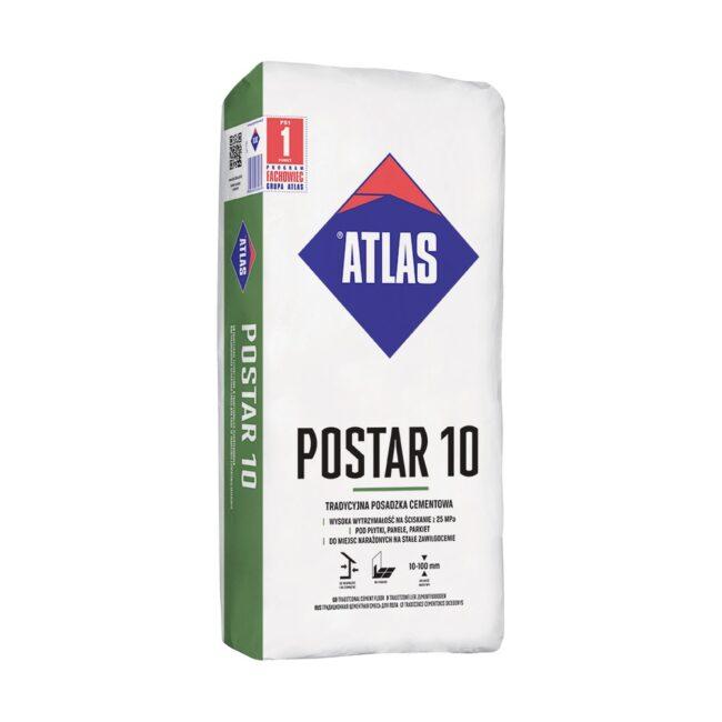 POSTAR 10 posadzka cemnentowa 25kg ATLAS