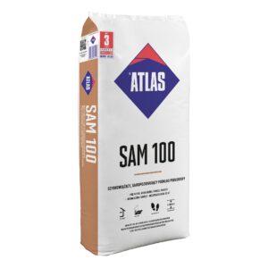 SAM 100 szybkowiążący samopoziomujący podkład podłogowy ATLAS 25kg