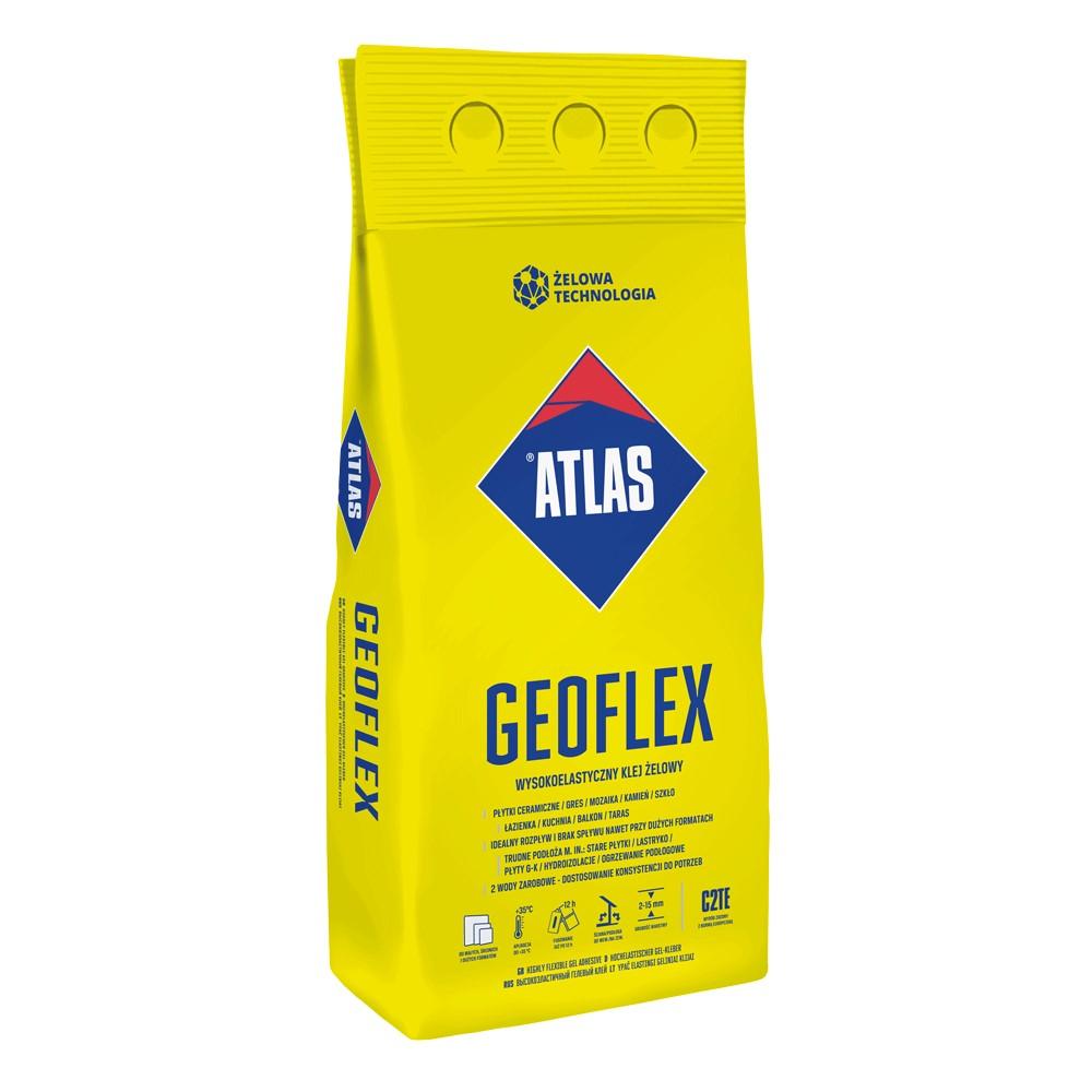 KLEJ GEOFLEX wysokoelastyczny klej żelowy typu C2TE (2-15 mm) ATLAS