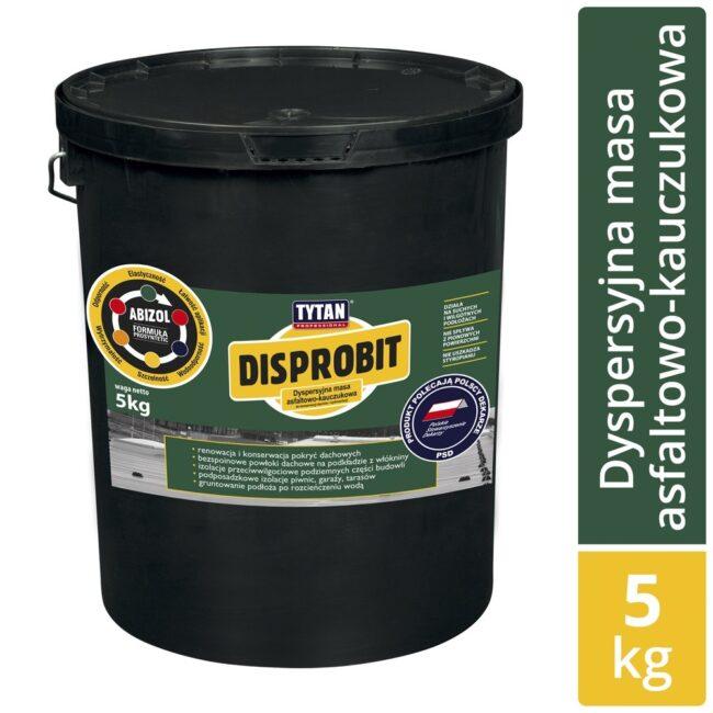 Dyspersjna masa asfaltowo-kauczukowa DISPROBIT ASF-K 5kg SELENA