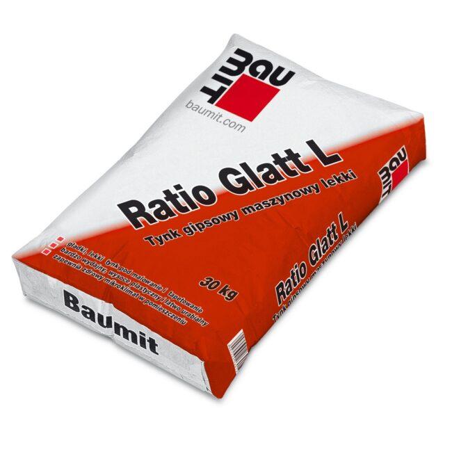 BAUMIT Ratio GlattL Tynk gipsowy maszynowy LEKKI 30kg