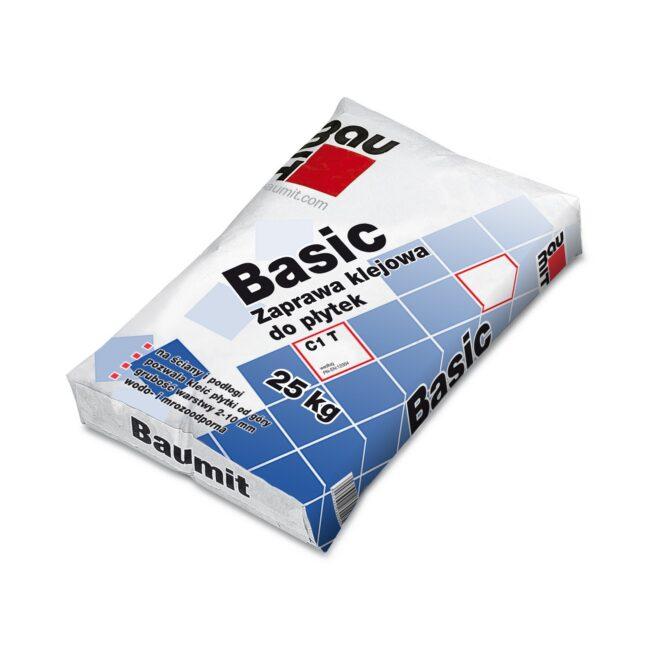 BAUMIT Baumacol Basic zaprawa klejowa do płytek 25kg