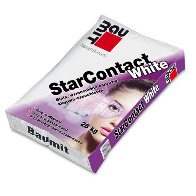 BAUMIT StarContact White biała zaprawa klejowo-szpachlowa 25kg