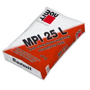 BAUMIT MPI 25L Tynk cementowo-wapienny wewnętrzny LEKKI 30kg