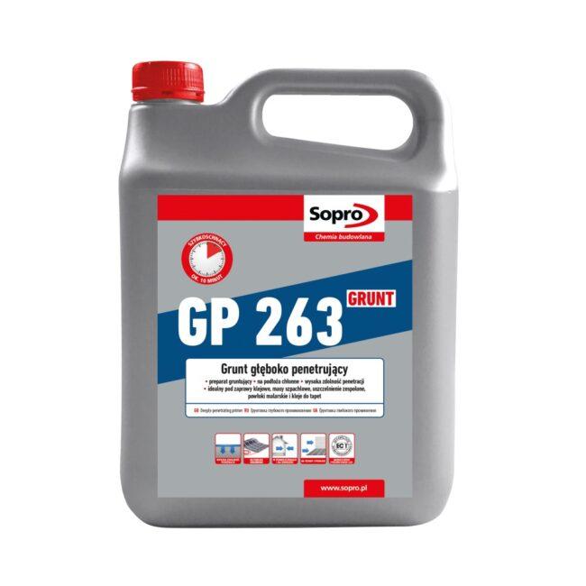 SOPRO GP 263 4L Preparat gruntujący penetrujący