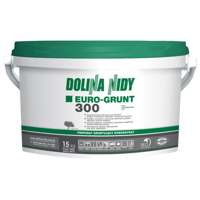 EURO GRUNT 300 (zielony) 15kg DOLINA NIDY