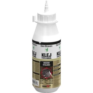 KLEJ DO DREWNA WOODFIX SUPER D3 250ml 750ml DEN BRAVEN