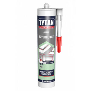 Akryl szybki efekt 280ml biały TYTAN SELENA