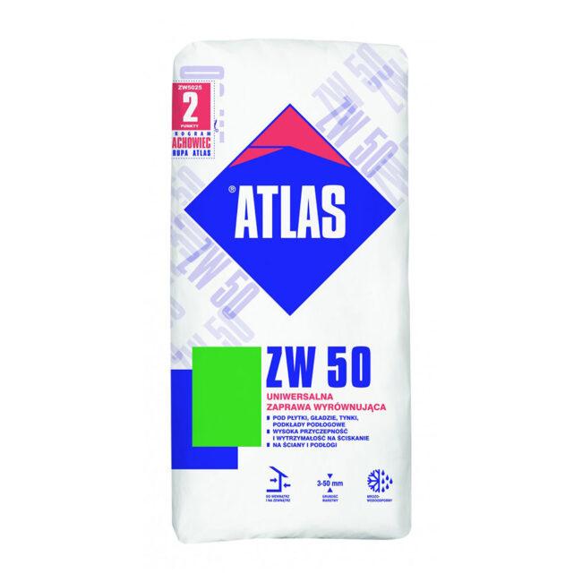 ATLAS Zaprawa wyrównująca ZW-50 25kg ATLAS