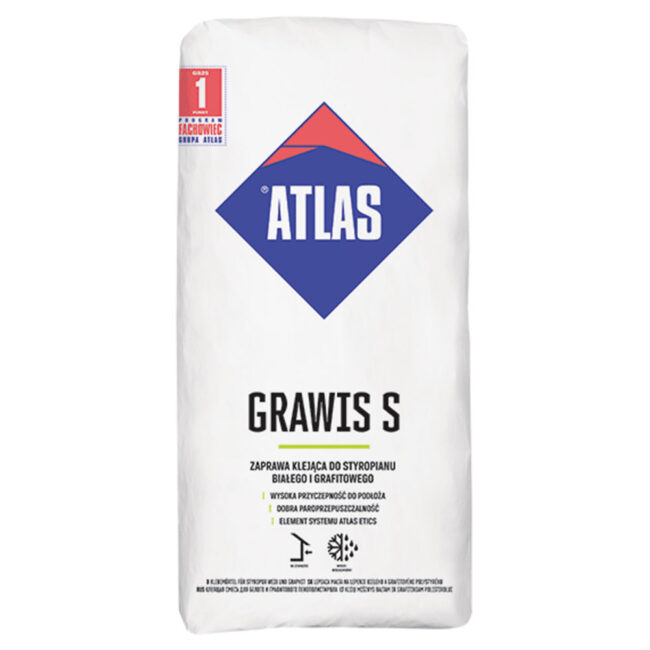 GRAWIS S Klej DO STYROP. 25kg ATLAS