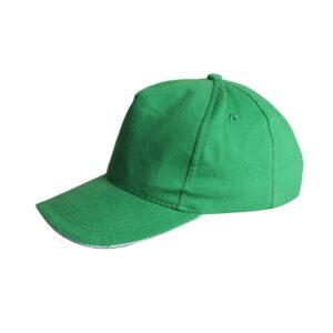 Czapka z dasziem zielona STALCO S-44231
