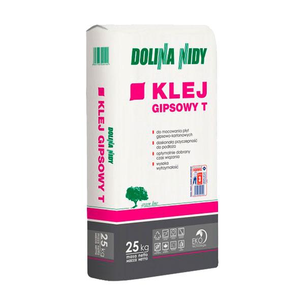 Klej gipsowy T 25kg DOLINA-NIDA