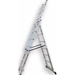 Drabina aluminiowa 3 ELEMENTOWA  rozmiary STALCO