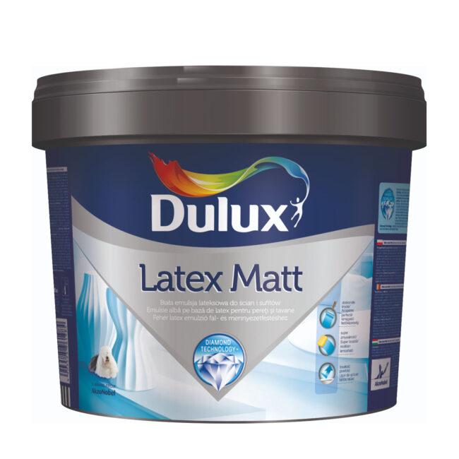 Farba biała lateksowa do ścian i sugitów LATEX MATT 3L