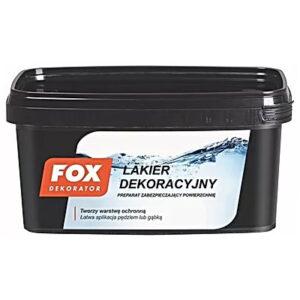 Lakier dekoracyjny 1L 3L FOX