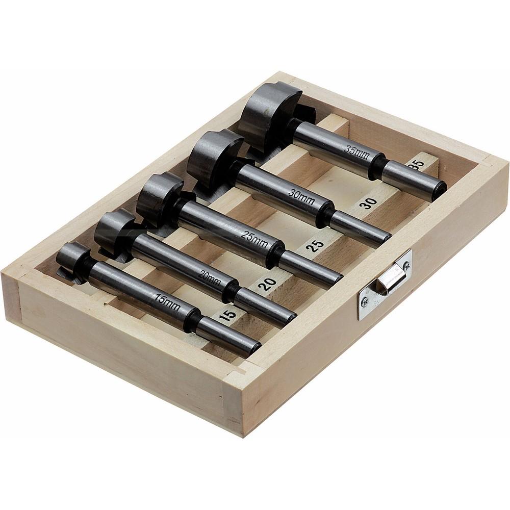 Frezy do drewna 5el. 15 - 35 mm S-27805 STALCO