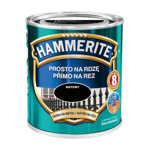 HAMMERITE farba DO METALU MAT 0