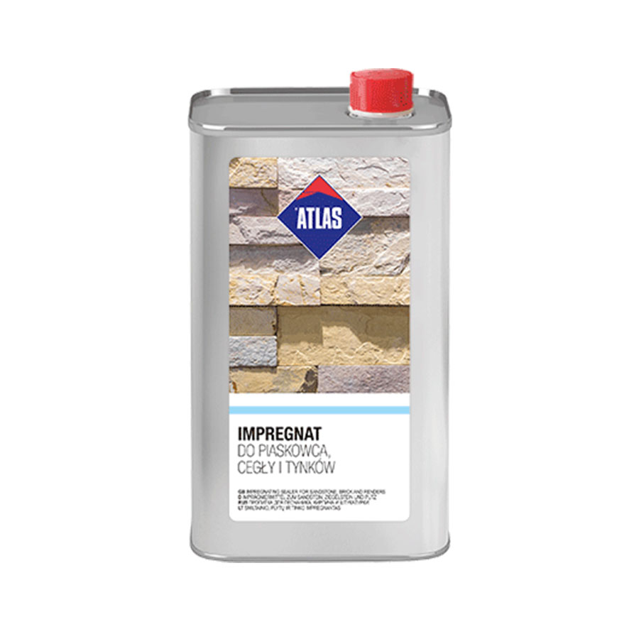 Atlas impregnat do piaskowca