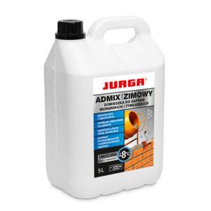ADMIX LIQUID Plastyfikator ZIMOWY wapno w płynie 5L JURGA