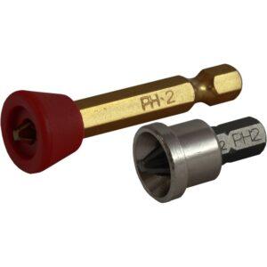 Końcówki Bit 1/4 z ogranicznikiem metalowym S-13192 STALCO