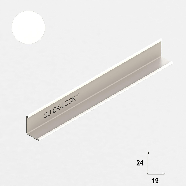 Profil przyścienny QUICK-LOCK 19 x 24mm 3m (515013) RIGIPS