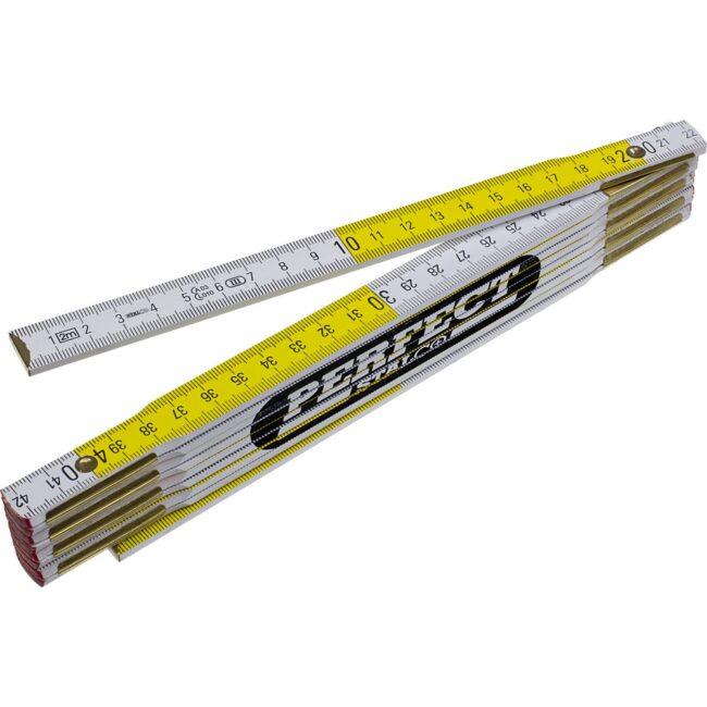 Miara składana drewniana 1-2m PERFECT STALCO