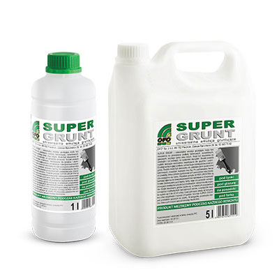 GRUNT GŁĘBOKOPENETRUJĄCY SUPER GRUNT 1L