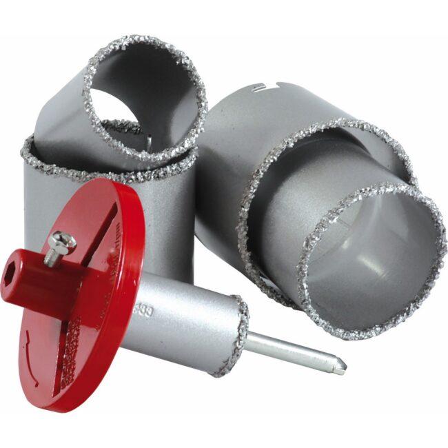 Otwornica do glazury 33-73 mm 6elementów S-28306 STALCO