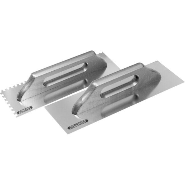 Paca nierdzewna  hartowana  380mm z zębem 10x10 S-73310 STALCO