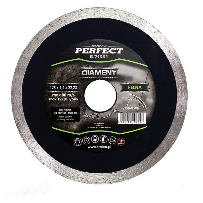 Tarcza diamentowa CIĄGŁA PERFECT 125