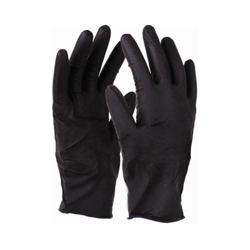 Rękawice nitrax GRIP Black L-XL STALCO