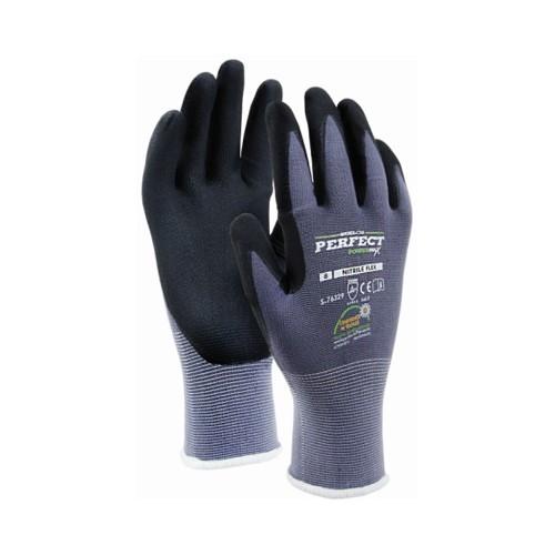 Rękawice nylonowe S-NITRILE FLEX STALCO PERFECT