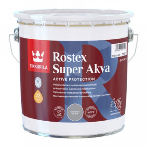 ROSTEX SUPER AKVA VAAL HARMA 1L 3L TIKKURILA