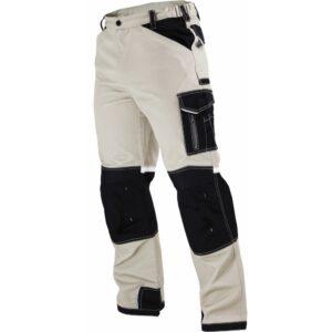 Spodnie robocze do pasa piaskowe PREMIUM STALCO