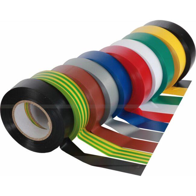 Taśma Izolacyjna 15mm x 10m mix kolorów S-38640 STALCO