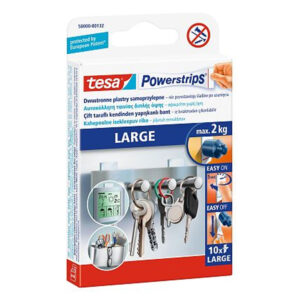 PLASTRY POWERSTRIPS 58000 10szt. LARGE TESA