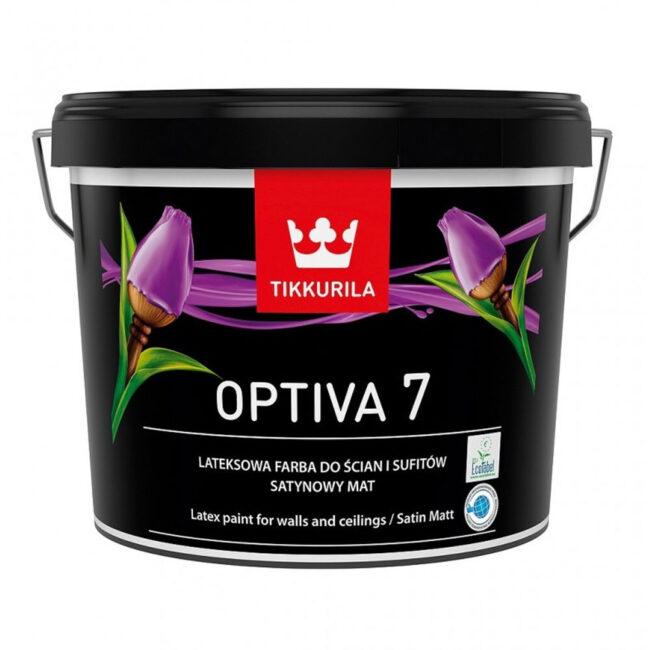 Farba do ścian OPTIVA SATIN MAT 7 0